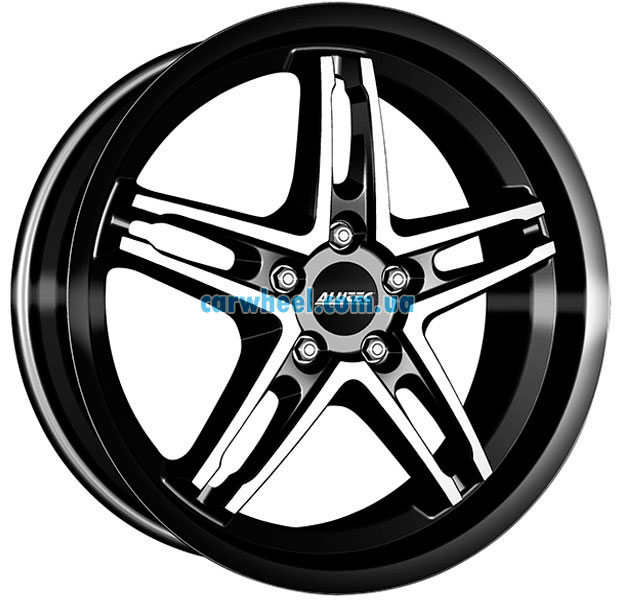 Alutec Poison Cup 8,5x19 5x112 ET35 DIA70,1 (diamond black front polished)