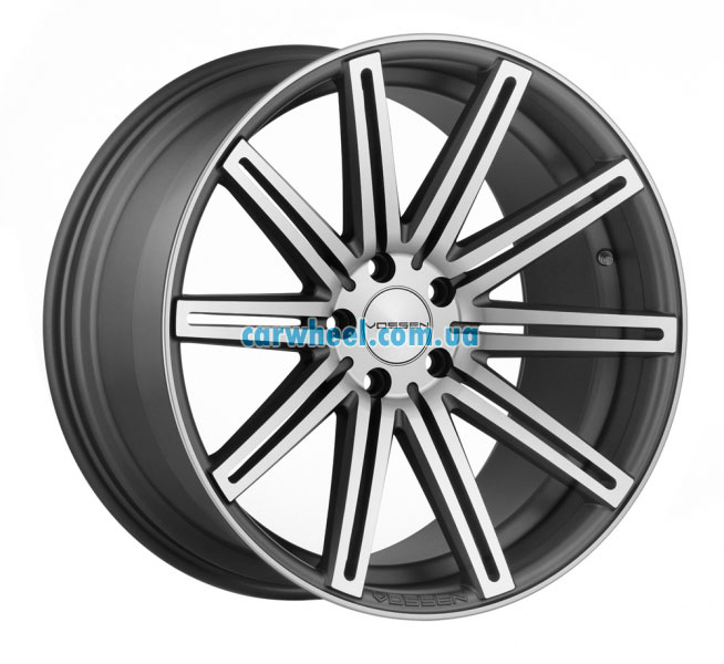 Vossen CV4 10,5x20 5x114,3 ET45 DIA73,1 (matte graphite machined face)