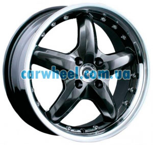 Racing Wheels H-303 7x16 5x114,3 ET40 DIA73,1 (CBG/ST)