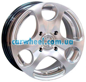 Racing Wheels H-344 6x14 4x100 ET35 DIA67,1 (silver)