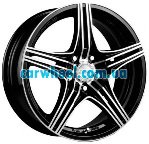 Racing Wheels H-464 6x14 4x100 ET38 DIA67,1 (BK-F/P)