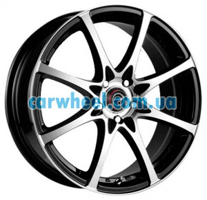 Racing Wheels H-480 6,5x15 4x100 ET38 DIA67,1 (BK-F/P)